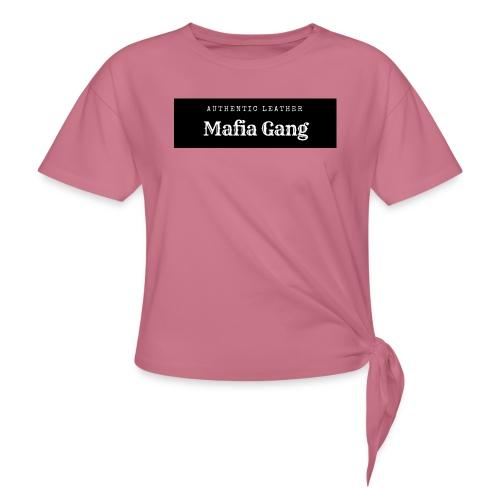 Mafia Gang - Nouvelle marque de vêtements - T-shirt à nœud Femme