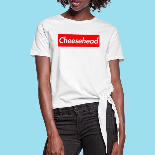 CHEESEHEAD Supmeme - Frauen Knotenshirt