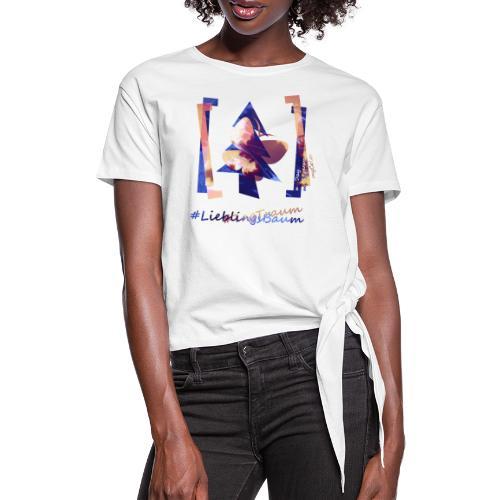 art.4.nature #LieblingsTraum - Frauen Knotenshirt