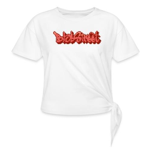 BlobStreet Name - T-shirt à nœud