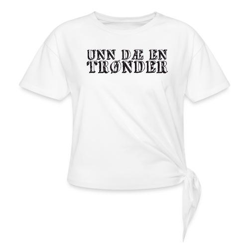 unndae - Knute-T-skjorte for kvinner