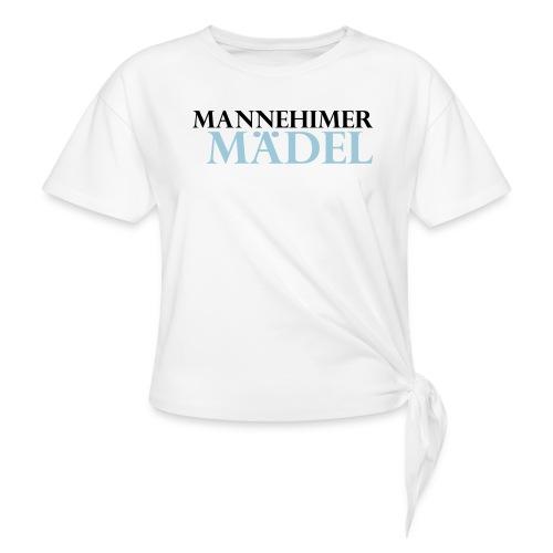 mannheimer maedel - Frauen Knotenshirt