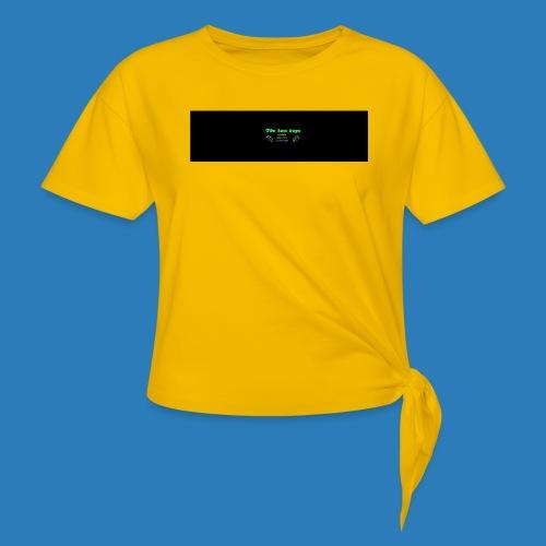 tetete-png - Dame knot-shirt