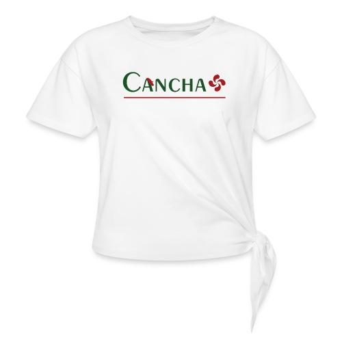 Cancha - T-shirt à nœud Femme