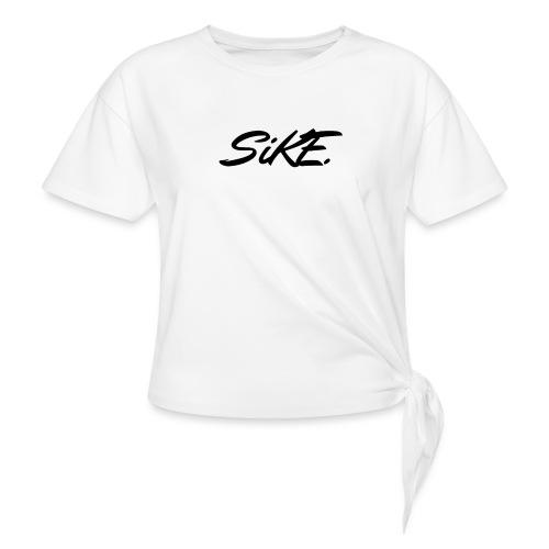 SIKE - T-shirt à nœud