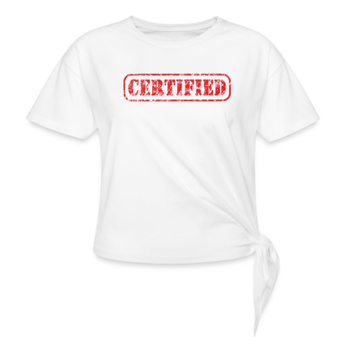 Certified - Vrouwen Geknoopt shirt