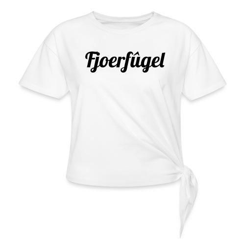 fjoerfugel - Vrouwen Geknoopt shirt