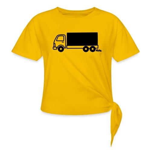 LKW lang - Frauen Knotenshirt