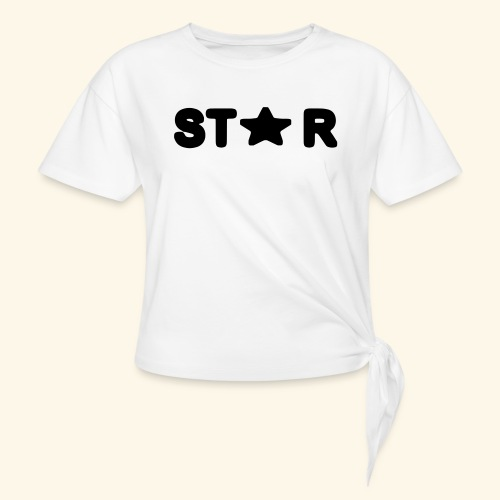 Star of Stars - Knotted T-Shirt