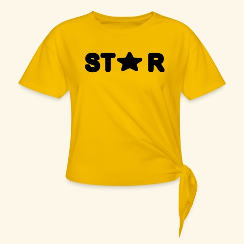 Star of Stars - Women's Knotted T-Shirt