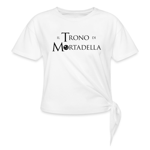 Grembiule Il Trono di Mortadella - Maglietta annodata