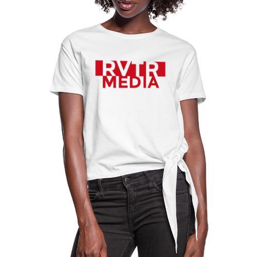 RVTR media red - Frauen Knotenshirt