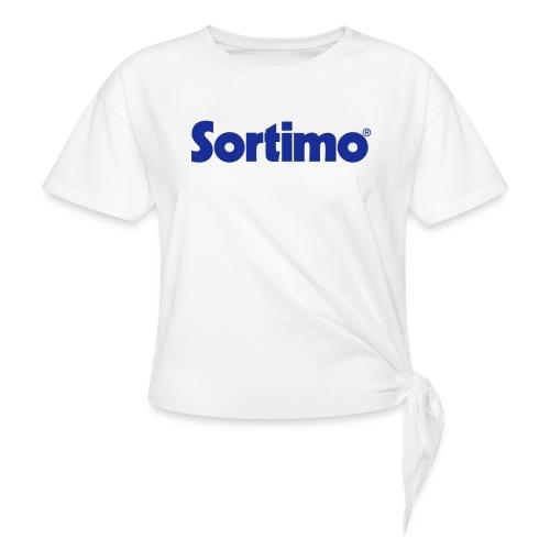 Sortimo - T-shirt med knut dam