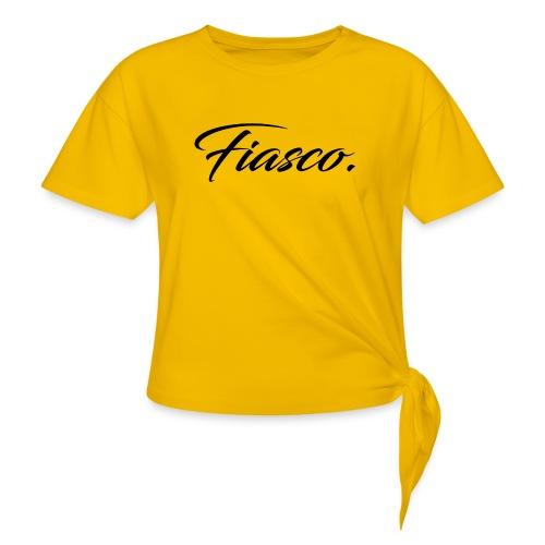 Fiasco. - Vrouwen Geknoopt shirt
