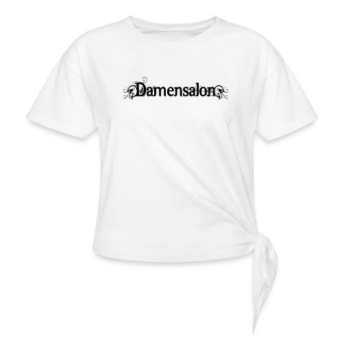 damensalon2 - Knotenshirt