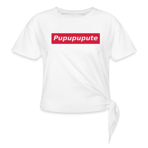 Pupupupute - T-shirt à nœud