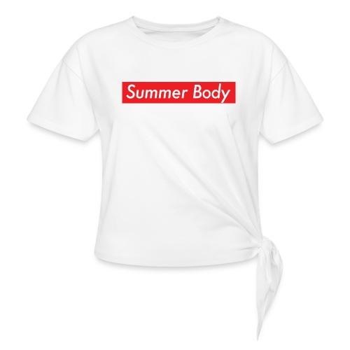Summer Body - T-shirt à nœud Femme