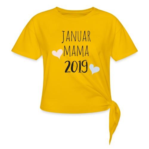 Januar Mama 2019 - Knotenshirt