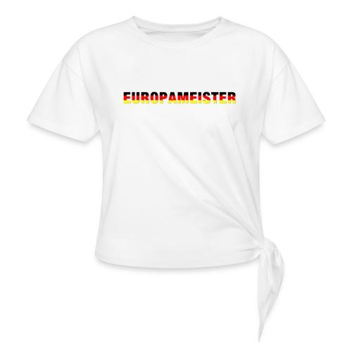 Europameister - Frauen Knotenshirt