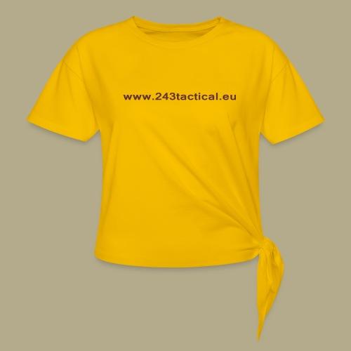 .243 Tactical Website - Vrouwen Geknoopt shirt