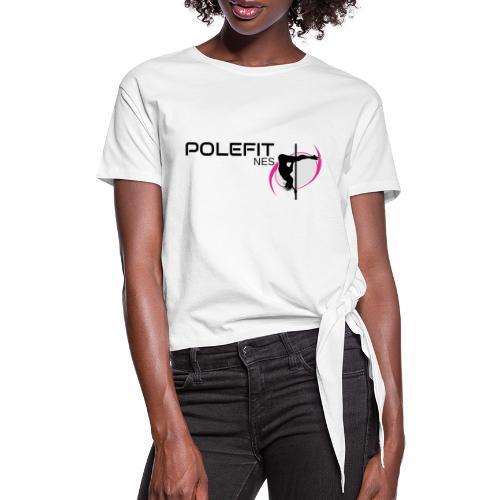Pole-Fit-NES - Frauen Knotenshirt