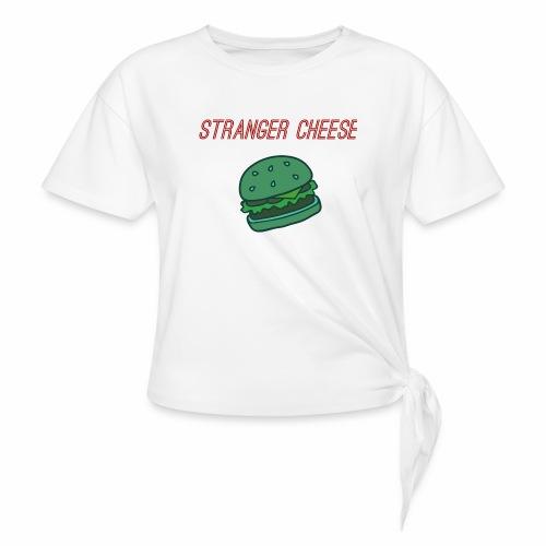 Stranger Cheese - T-shirt à nœud Femme