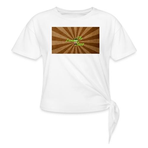 THELUMBERJACKS - Women's Knotted T-Shirt
