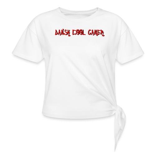 Dansk cool Gamer - Dame knot-shirt