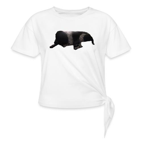 barnaby merch - Women's Knotted T-Shirt