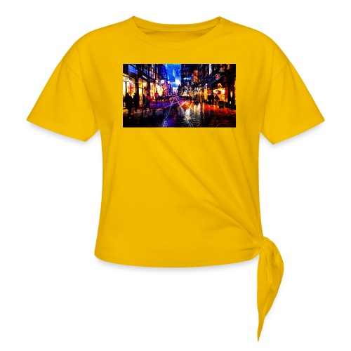 Flip Side Photography Amsterdam - Women's Knotted T-Shirt