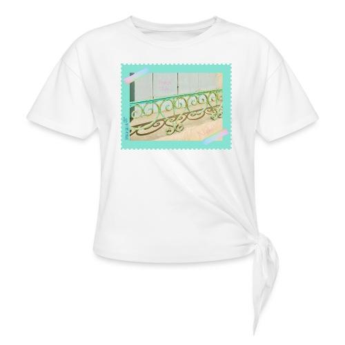 French Style! - Frauen Knotenshirt