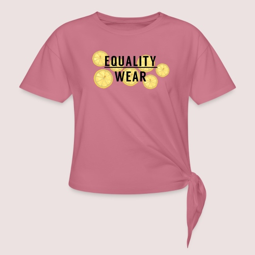 Equality Wear Fresh Lemon Edition - Knotted T-Shirt