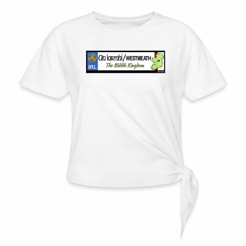 WESTMEATH, IRELAND: licence plate tag style decal - Knotted T-Shirt