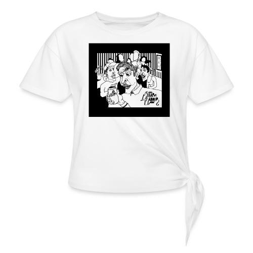 CHEAP LABOUR ALBUM COVER - T-shirt med knut
