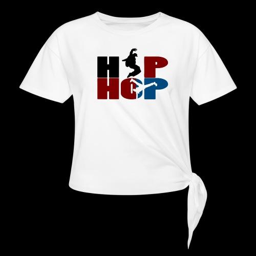 hip hop - T-shirt à nœud