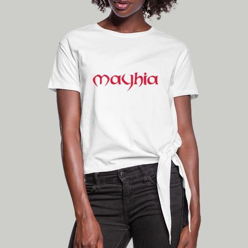 mayhia, die Marke einer Philosophie. - Frauen Knotenshirt