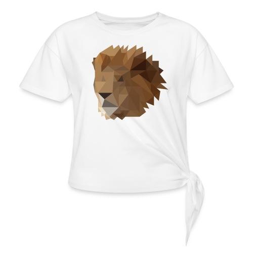 Löwe - Knotenshirt