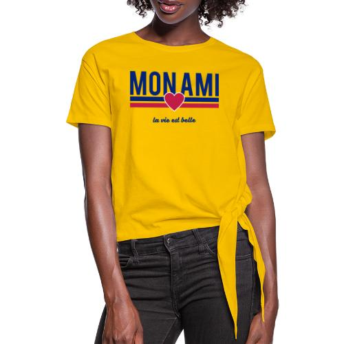 Mon Ami - Knotted T-Shirt