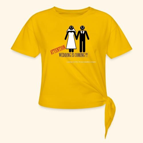 SPOSI - Maglietta annodata da donna