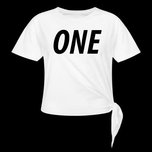WEAREONE x LETTERS - Vrouwen Geknoopt shirt