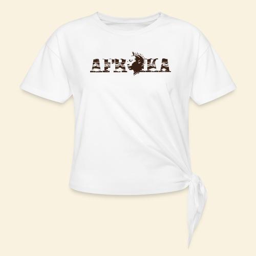 afrika - T-shirt à nœud