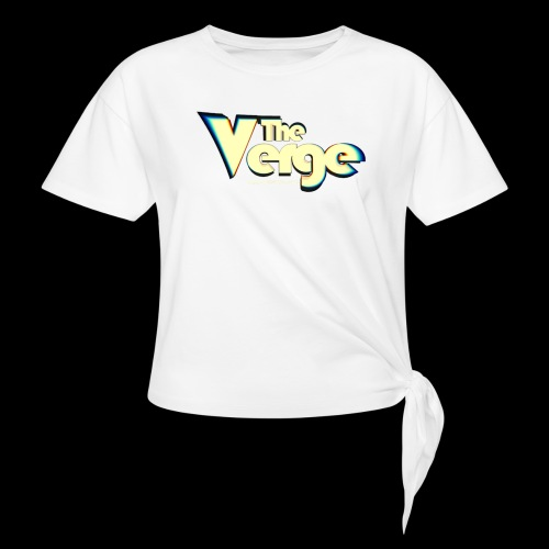 The Verge Vin - T-shirt à nœud