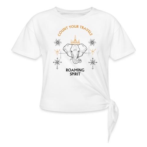 ROAMING SPIRIT travel tees - Knotted T-Shirt