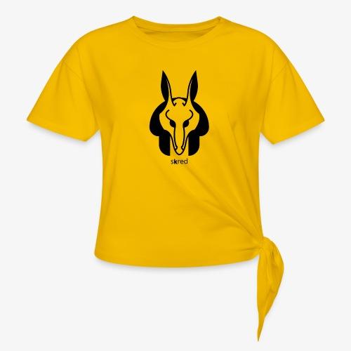 Anubi Soggetto1 - Maglietta annodata da donna