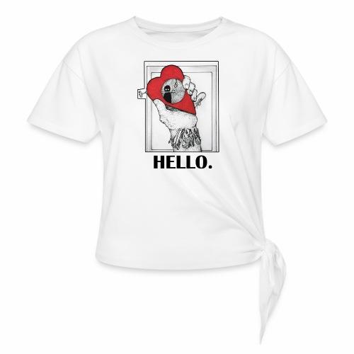 Lonely Heart - T-shirt à nœud