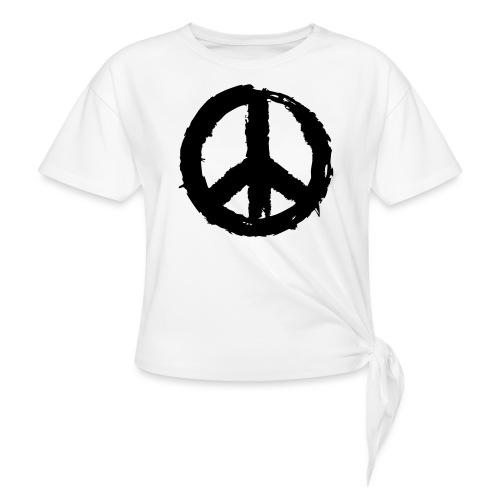 Pinselpeace - Frauen Knotenshirt