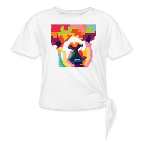 Alpaka WPAP Design - Knotenshirt