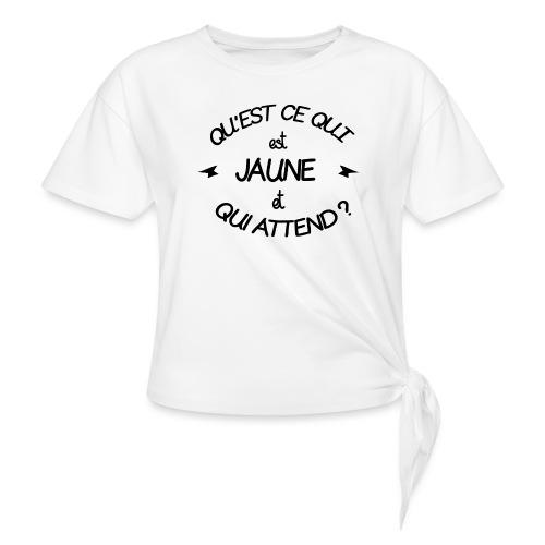 Edition Limitée Jonathan - T-shirt à nœud Femme