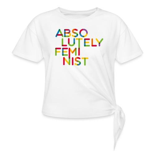 Absolutely rainbow typo - Knotenshirt