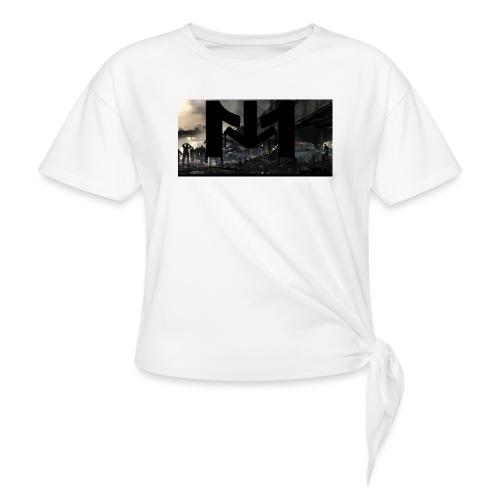 Mousta Zombie - T-shirt à nœud Femme